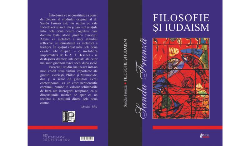 Sandu Frunză, Filosofie şi iudaism Ed. Limes, Cluj, 2006.